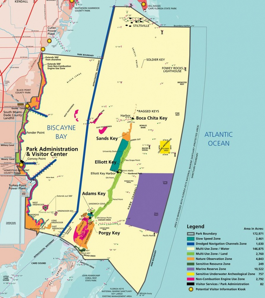 Biscayne National Park Map - Yahoo Search Results | I Want To Go To - Los Cayos Florida Map