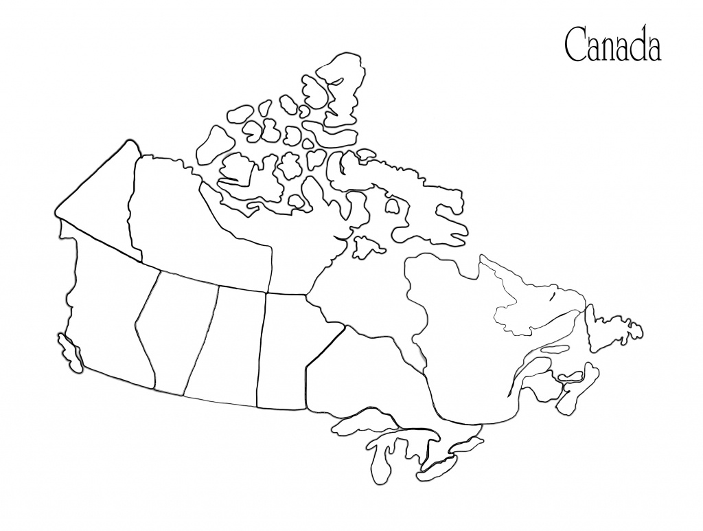 Blank Africa Map Printable Valid Printable Maps Canada Awesome - Printable Map Of Canada Pdf