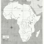 Blank Africa Physical Map | Too Cool For School | Africa Map   Africa Map Quiz Printable