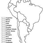 Blank Latin America Map Quiz Social Studies Pinterest Inside In For - Latin America Map Quiz Printable