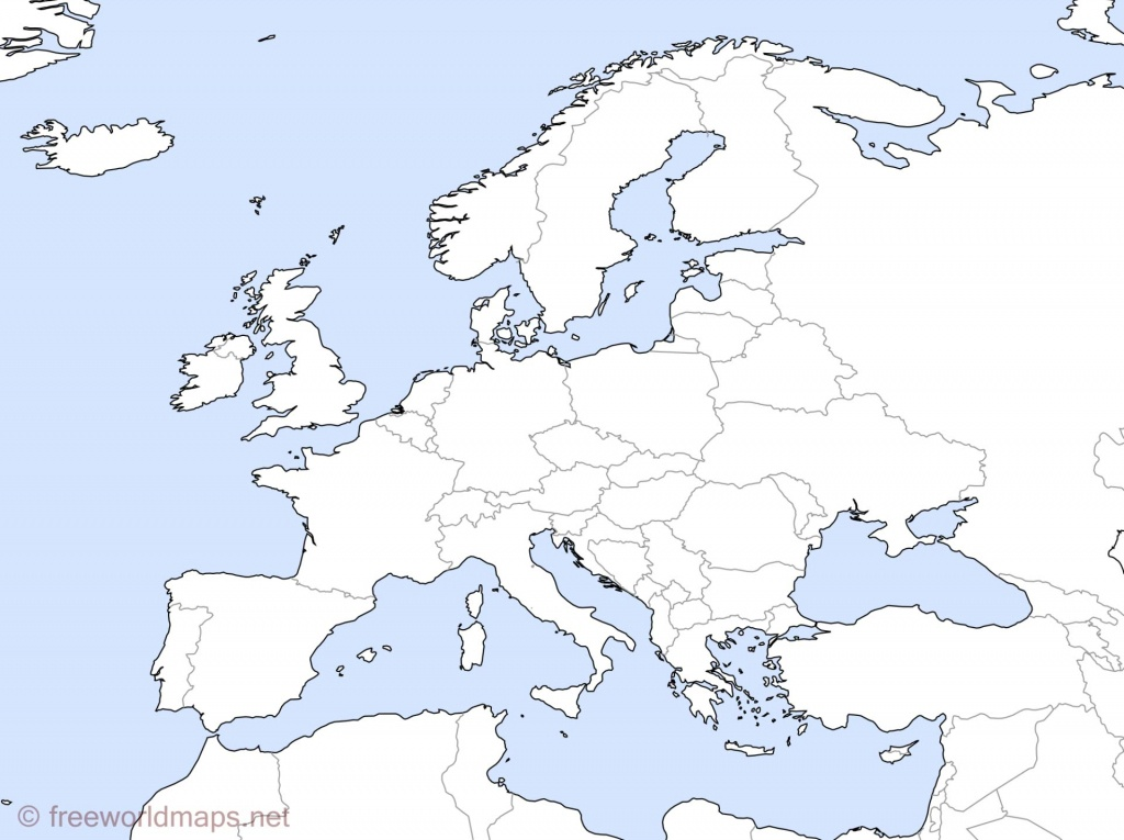 Blank Map Europe 1914 | Travel Maps And Major Tourist Attractions Maps - Blank Map Of Europe 1914 Printable