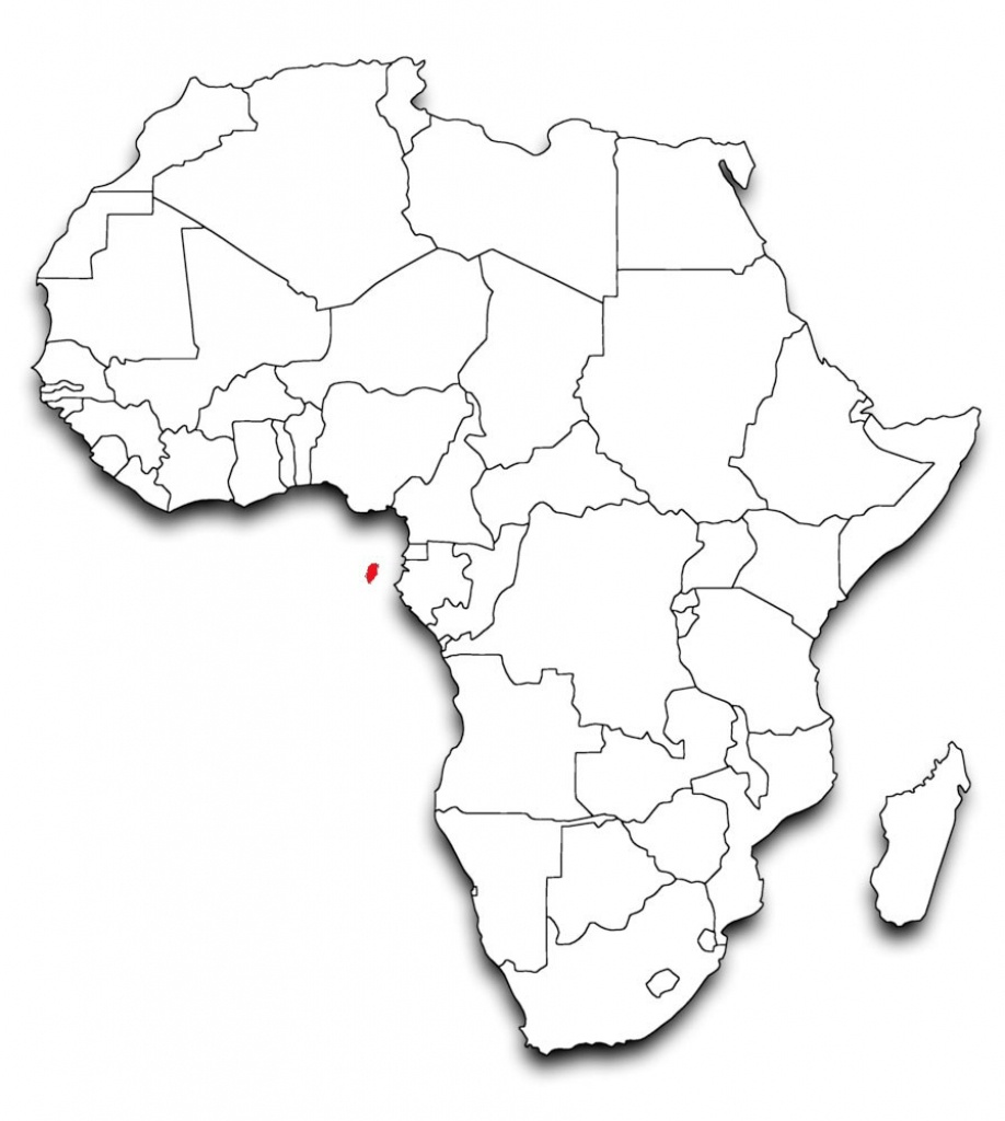 Blank Map Of Africa Countries Gallery Art With In Political - Blank Political Map Of Africa Printable