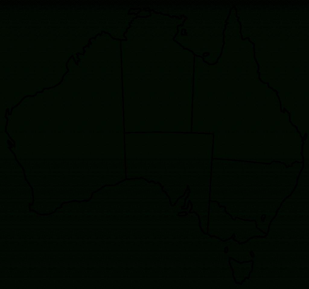 Blank Map Of Australia Printable 1 Maps Update 8931015 Free In - Printable Map Of Australia
