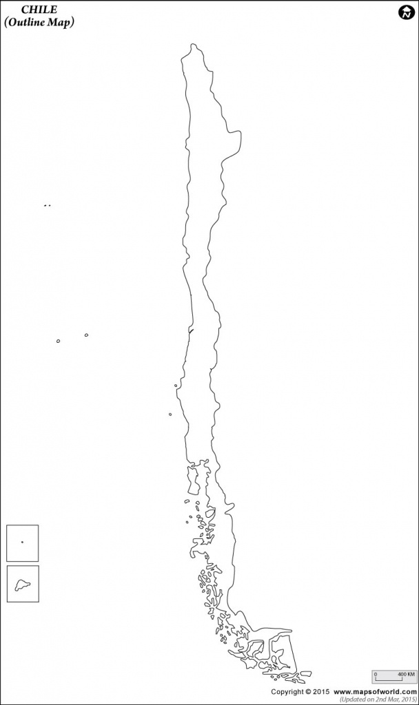 Blank Map Of Chile | Chile Outline Map - Outline Map Of Puerto Rico Printable