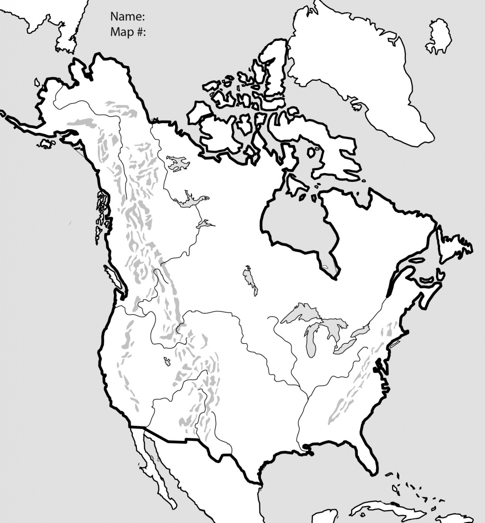 Blank Map Of Usa And Canada And Travel Information | Download Free - Blank Us And Canada Map Printable