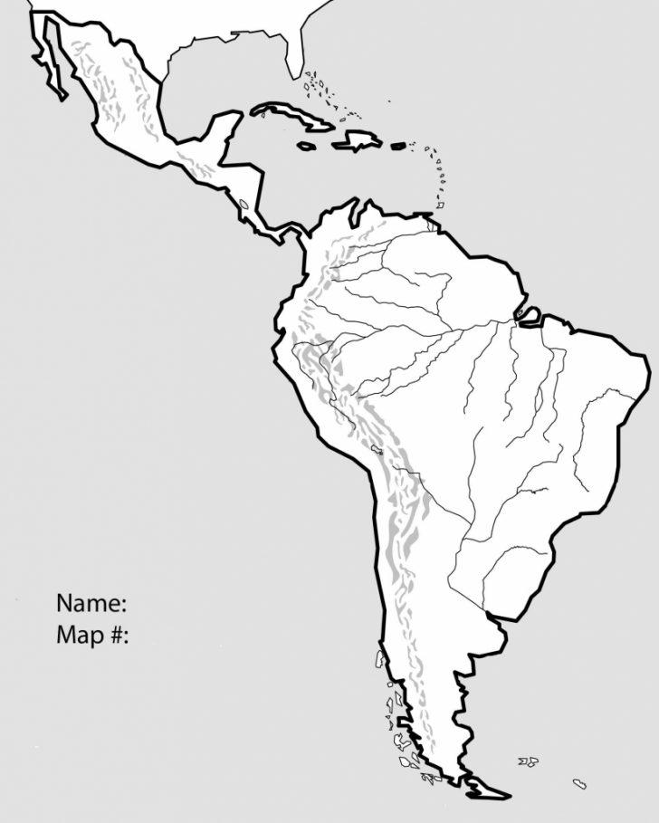 Central America Map Quiz Printable