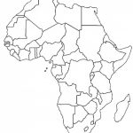 Blank Outline Map Of Africa | Africa Map Assignment | Party Planning   Free Printable Political Map Of Africa