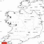 Blank Simple Map Of Ireland   Printable Blank Map Of Ireland