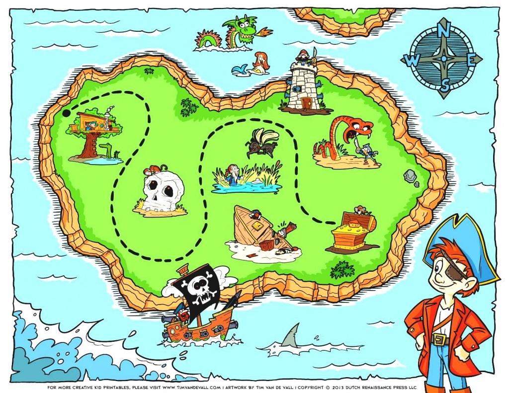 Blank Treasure Map Clip Art World With Latitude And Longitude - Printable Kids Pirate Treasure Map