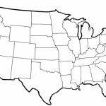 Blank Us Map Printable Pdf United States Outline Map Free Printable - Blank Us Map Printable Pdf