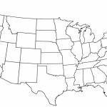 Blank Us State Map Printable Us 50 2 Awesome Blank Us State Map   Blank Us Map Printable