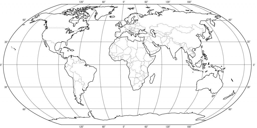 Blank World Map Test | Listed Map - World Map Test Printable