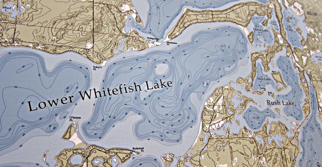 Blueprint Maps – Beautiful Maps Of Minnesota Lakes - Printable Lake Minnetonka Map