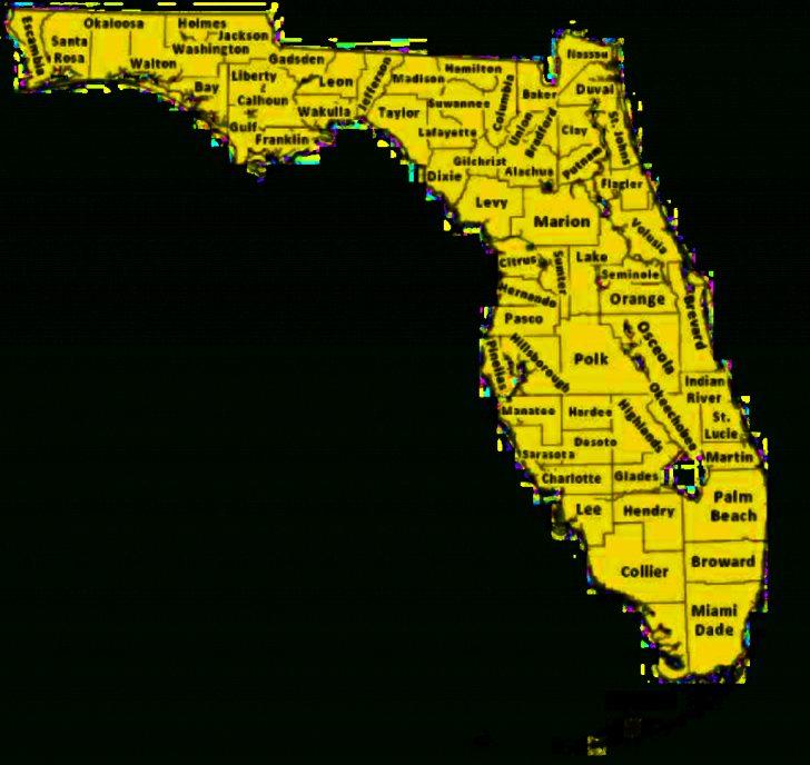 Orange Lake Florida Map