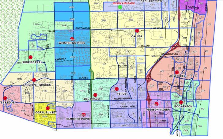 Boca Florida Map