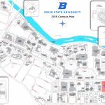 Boise State University Campus Map   Boise State University Printable Campus Map