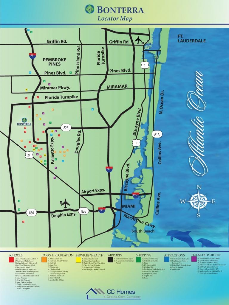 Bonterra: A Hot, New Community Hits The South Florida Map! | Cc Homes - Osprey Florida Map