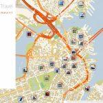 Boston Printable Tourist Map | Sygic Travel   Printable Map Of Boston Attractions
