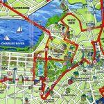 Boston Tourist Map   Tourist Map Of Boston (United States Of America)   Printable Map Of Boston Attractions