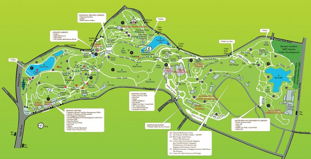 Botanic Garden Singapore - ស្វែង រក Google | Botanic Park In - Florida Botanical Gardens Tourist Map