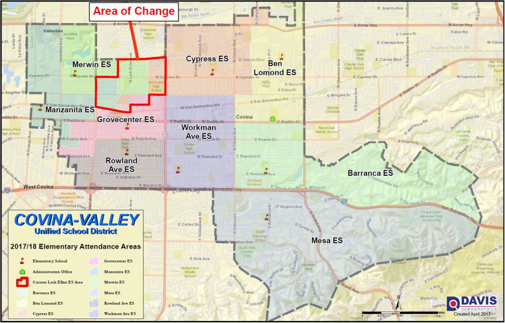 Boundary Map / Info - West Covina California Map
