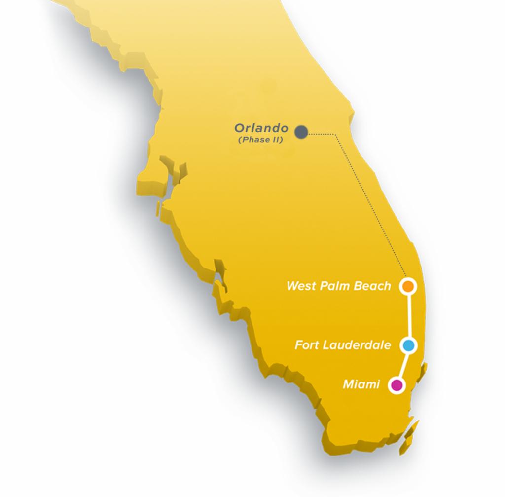 Brightline   The Palm Beaches Florida - Brightline Florida Map