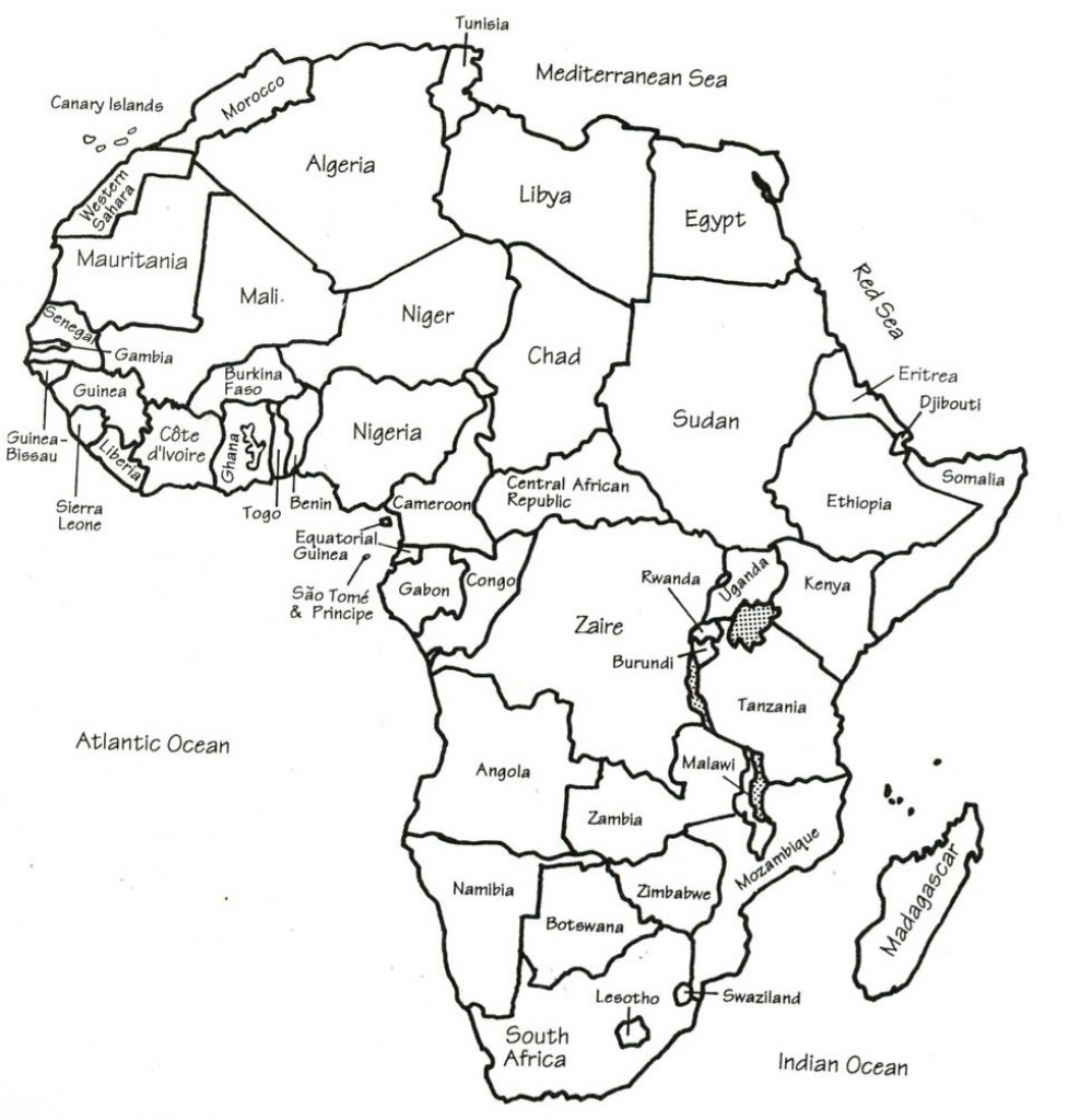 Broad Providing Down Noticeably Provide Nevertheless Slightest Me - Map Of Africa Printable Black And White