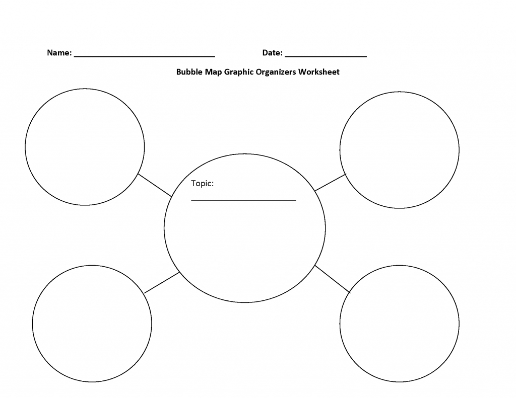 Bubble Map Template - Eymir.mouldings.co - Free Printable Circle Map Template