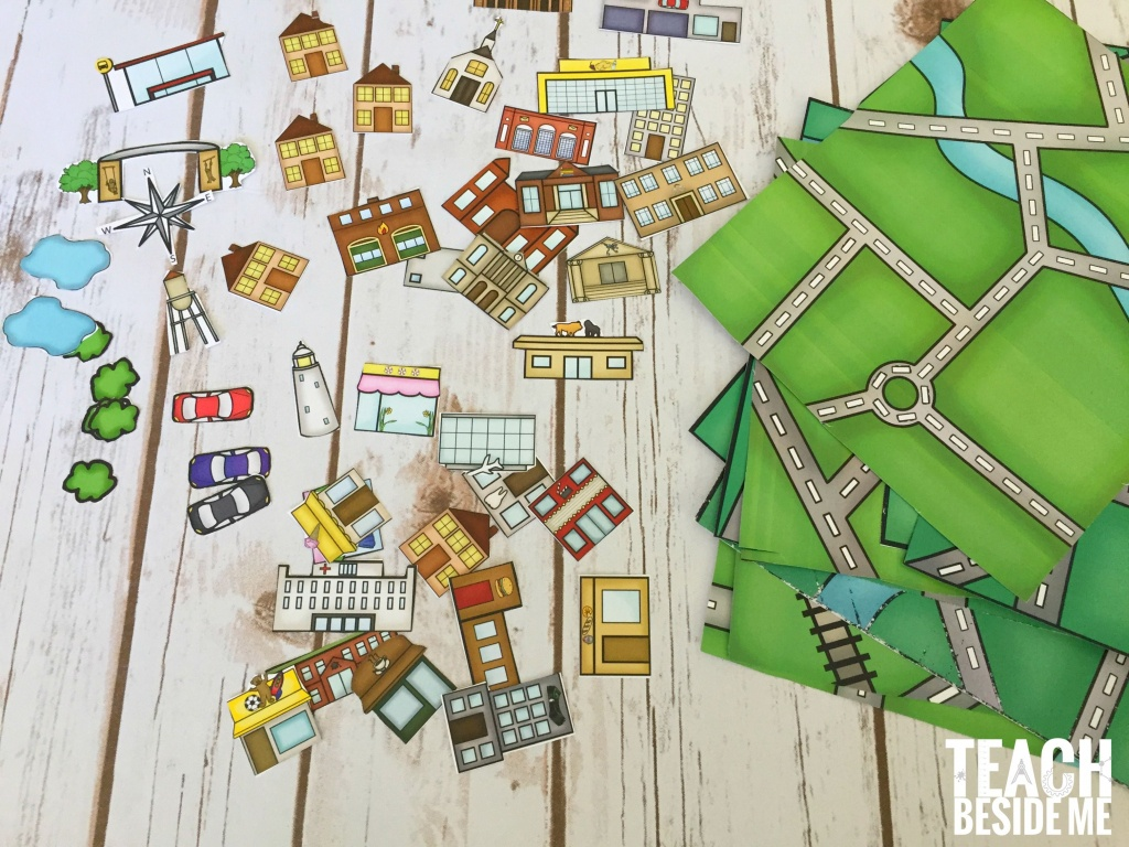 Build A City Map | Geography | Printable Maps, Map Activities, Map - Community Map For Kids Printable