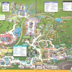 Busch Gardens Tampa   2016 Park Map   Florida Busch Gardens Map