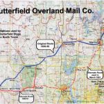 Butterfield Overland Mail Company   Bridgeport Texas Map
