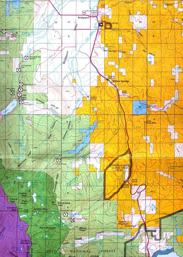 Buy And Find California Maps: Bureau Of Land Management: Northern - Blm Map California