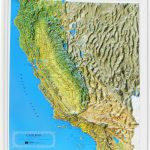 Buy California Relief Map | Flagline   Buy Map Of California