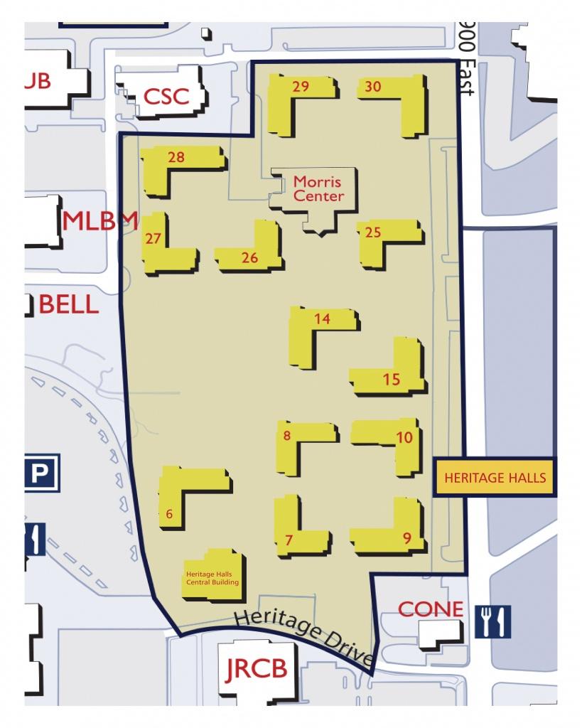 Byu Campus Map | Ageorgio - Byu Campus Map Printable