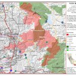 Ca Oes, Fire   Socal 2007   San Diego California Fire Map
