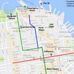Cable Car Routes San Francisco | Examples And Forms   Printable Map San Francisco Cable Car Routes