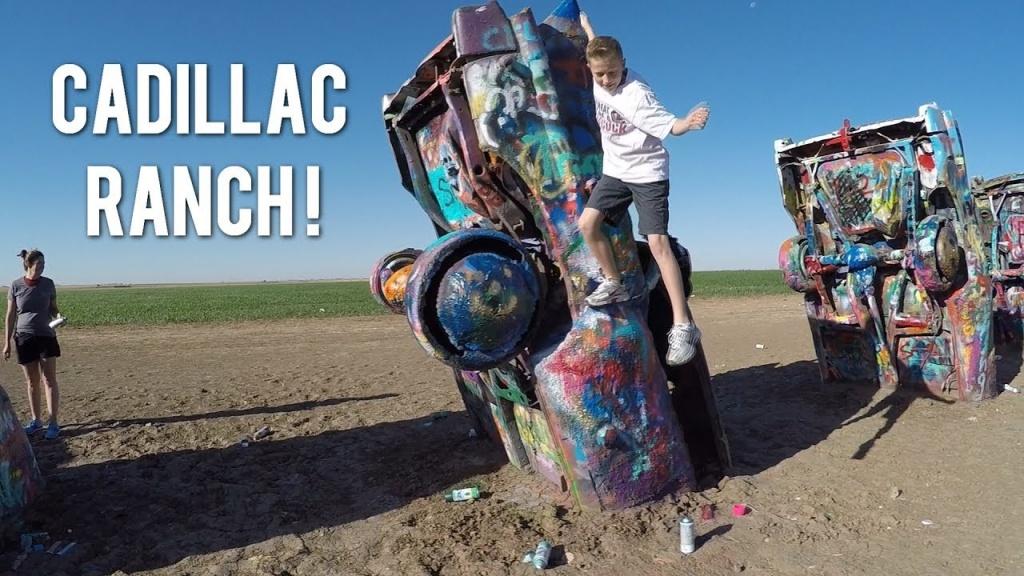 Cadillac Ranch - Cadillac Ranch Texas Map