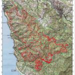 Cal Fire Soberanes Fire Maps In Pdf | Big Sur California   California Fire Heat Map