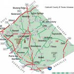Caldwell County | The Handbook Of Texas Online| Texas State   Luling Texas Map