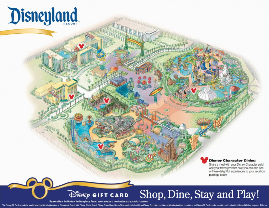 California Adventure Rides Map Printable Map Disneyland And - Printable Disneyland Map