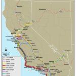 California Amtrak Stations Map | Secretmuseum   Amtrak California Map Stations