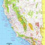 California And Nevada Map 1974 Side 1   Maps   Map Of California And Nevada