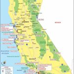 California Attractions Map | Travel In 2019 | California Attractions   California Tourist Map