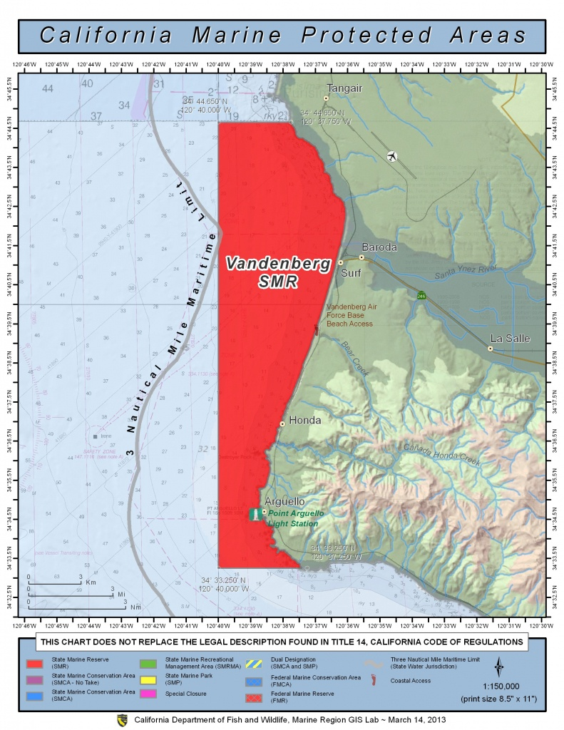 California Bill To Ban Oil Drilling In Marine Protected Area Fails! - California Marine Protected Areas Map