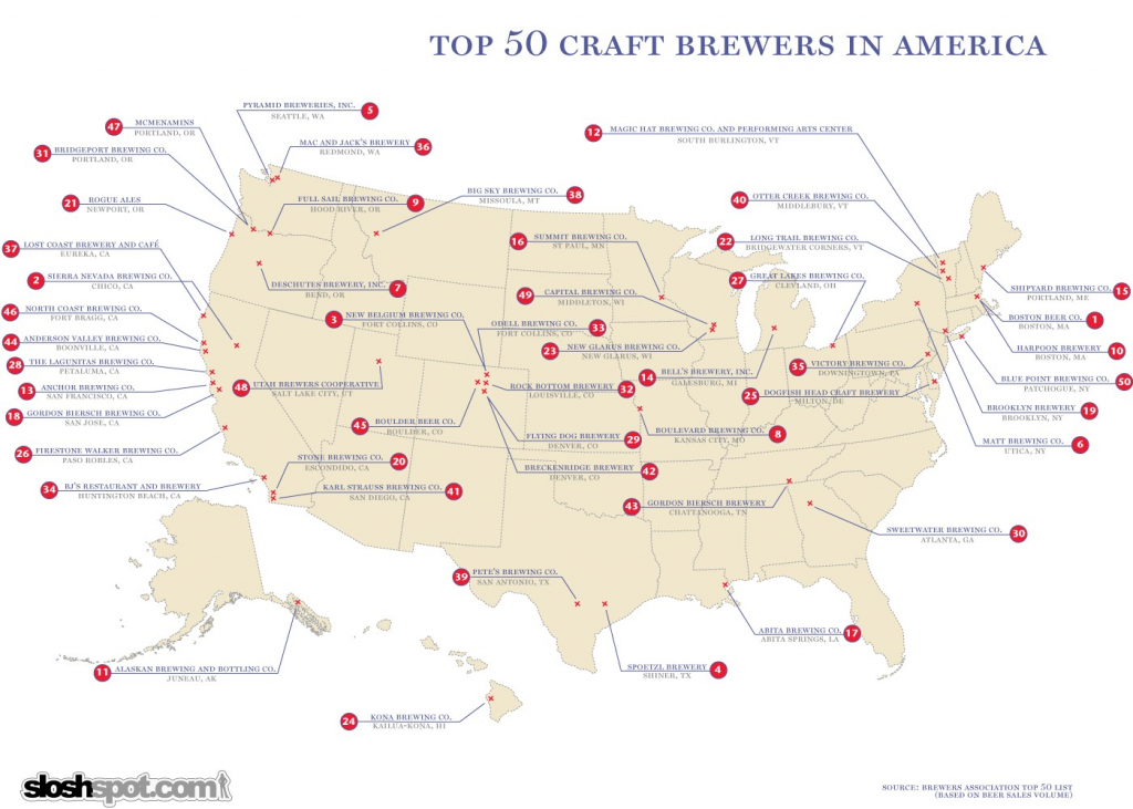 California Brewery Map Brewers The Brew Babes Beer Blog Within - California Brewery Map