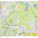 California Deer Hunting Zone X1 Map   Huntdata Llc   Avenza Maps   California Deer Hunting Map