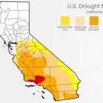 California Drought: Recent Rains Have Almost Ended It   Cnn   California Drought Map 2017