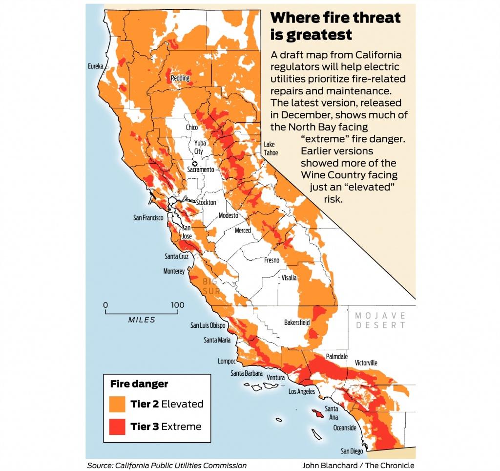 California Fire-Threat Map Not Quite Done But Close, Regulators Say - California Fires Map