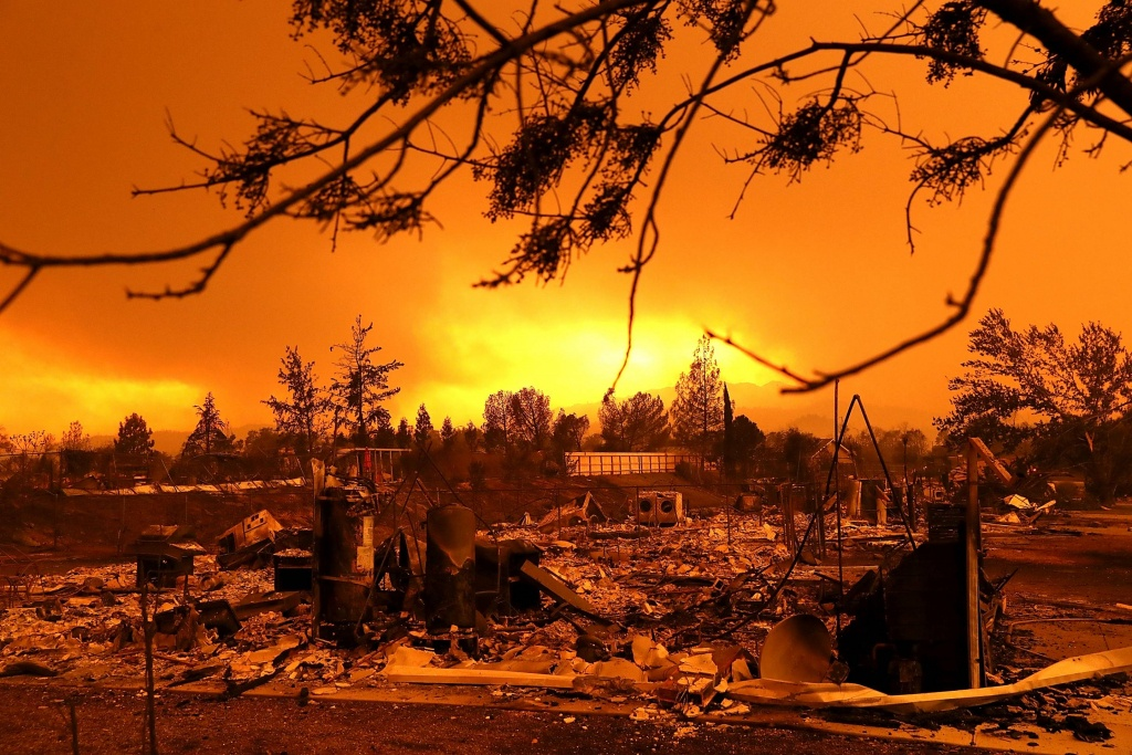 California Fires Map: Get The Latest Updates From Google   Fortune - Active Fire Map California