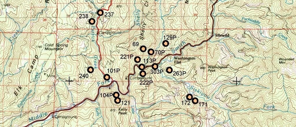 California Gold Maps, Treasure Maps, Gold Panning Maps, Gold - Gold Prospecting Maps California